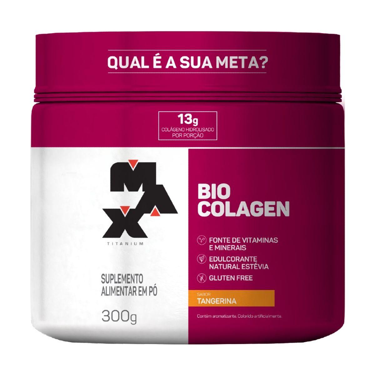 Bio Colagen 300g Max Titanium