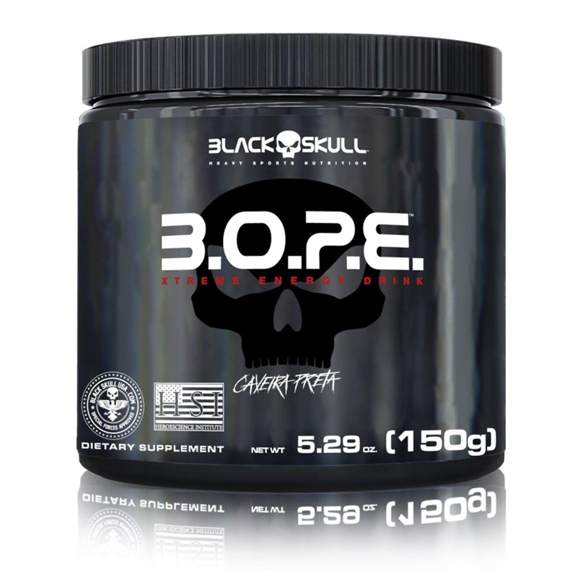 BOPE Pré Treino 150g Black Skull  - Vitta Gold