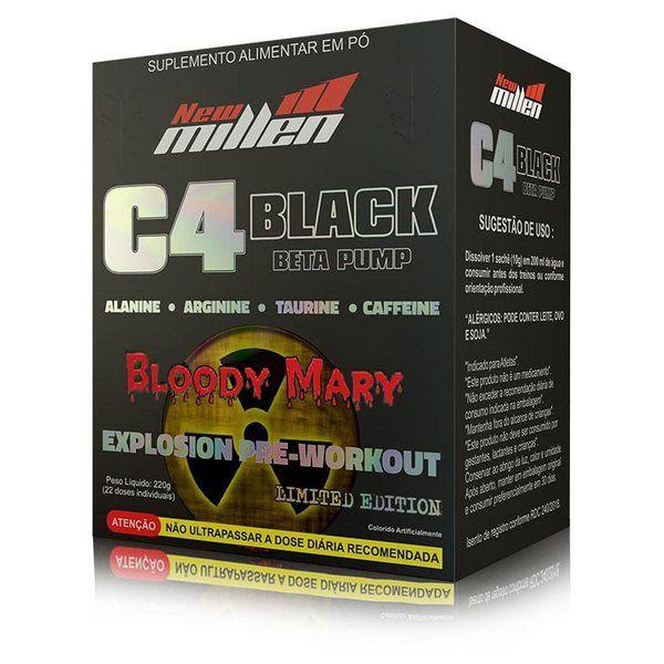 C4 Black Beta Pump 22 Doses New Millen