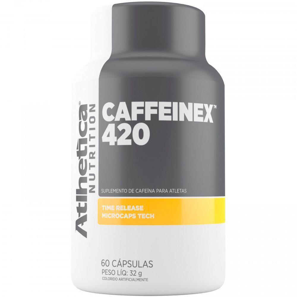 Caffeinex 420mg 60 Cápsulas Atlhetica Nutrition  - Vitta Gold