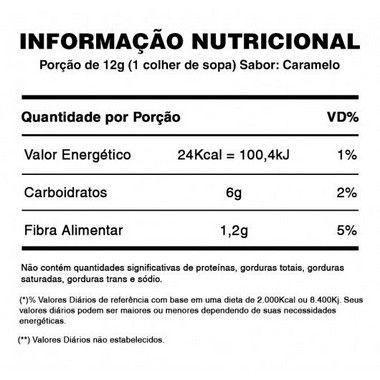 Calda de Caramelo Zero Açúcar 240g SS Natural  - Vitta Gold