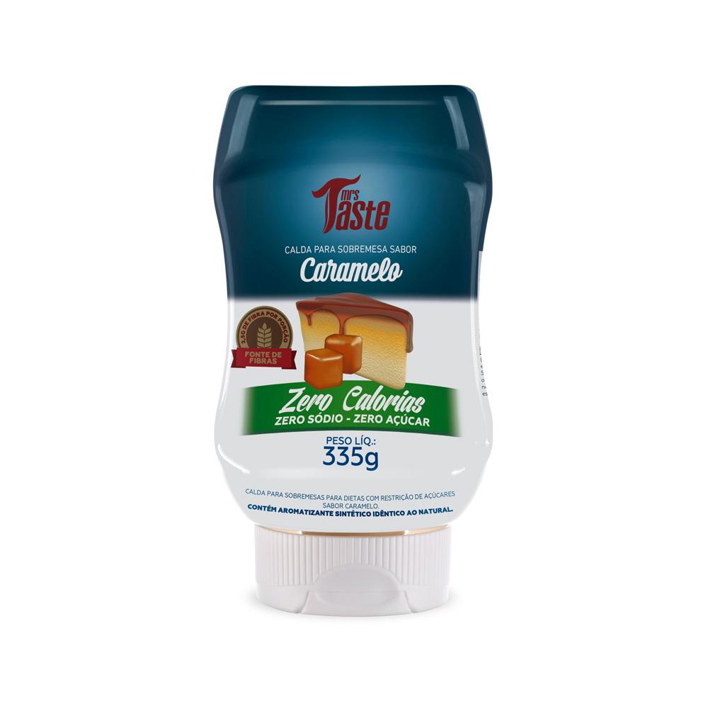 Calda de Caramelo Zero Calorias 335g Mrs Taste