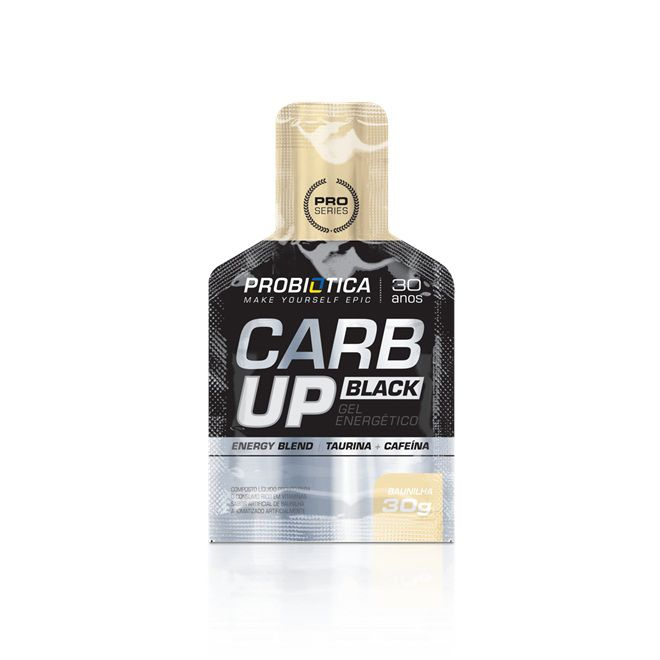 Carb Up Black Gel 30g Probiótica