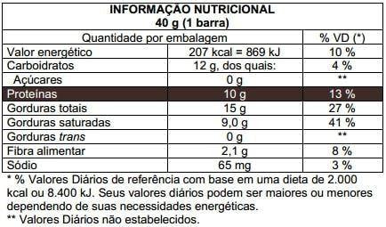 Choko Crunch Protein 40g Probiótica  - Vitta Gold