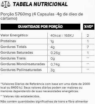 CL Óleo de Cártamo 120 Cápsulas New Millen  - Vitta Gold