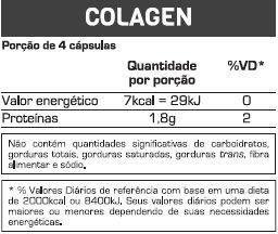 Colágeno 100 Cápsulas Max Titanium  - Vitta Gold