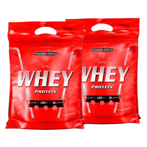 Combo 2 Nutri Whey Refil - 1,8kg