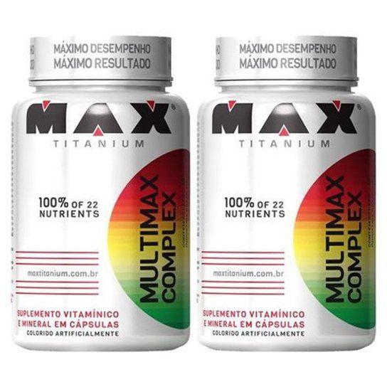 Combo 2x Multimax Complex - 90 Cápsulas Cada - Max Titanium  - Vitta Gold