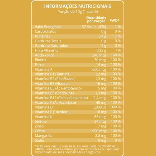 Condrigen Artro Colágeno Tipo I e II 30 Sachês Maxinutri  - Vitta Gold