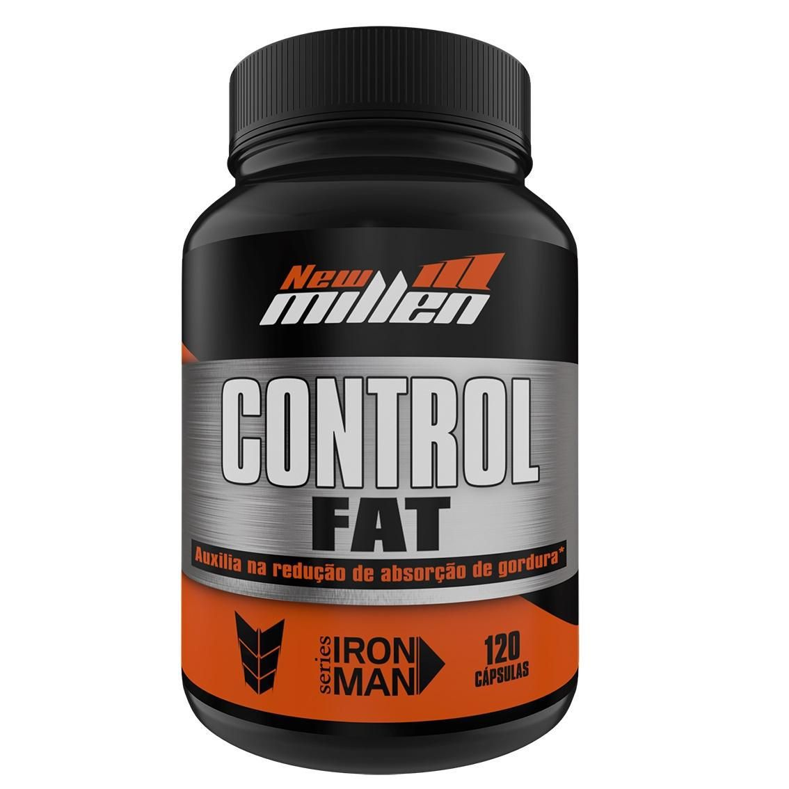 Control Fat 120 cápsulas New Millen