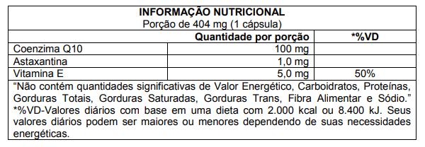 Control Q10 60 Cápsulas CleanLab Atlhetica Nutrition  - Vitta Gold