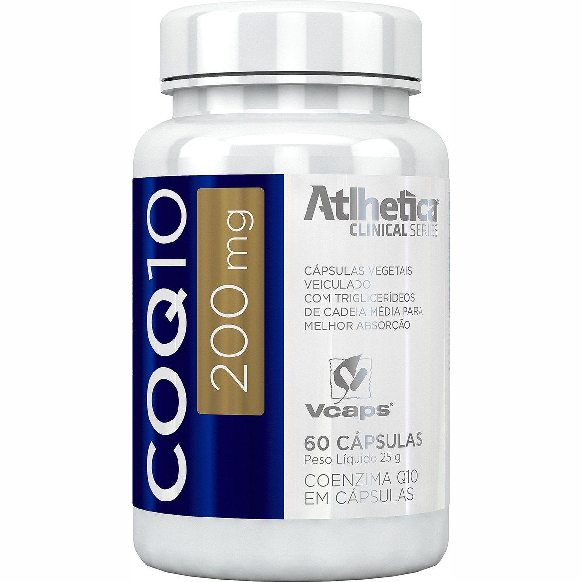COQ10 200mg 60 cápsulas Atlhetica Nutrition