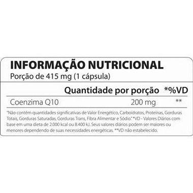 COQ10 200mg 60 cápsulas Atlhetica Nutrition  - Vitta Gold