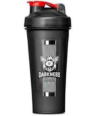 Coqueteleira Darkness Com Mola 600ml Integralmédica
