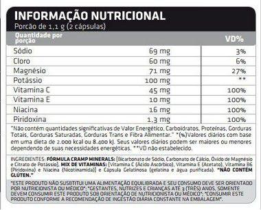 Cramp Block 60 Cápsulas Atlhetica Nutrition  - Vitta Gold