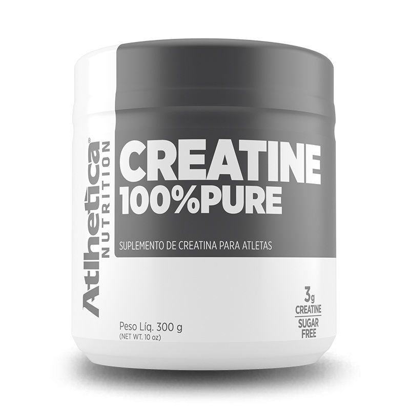 Creatina 100% Pure 300g Atlhetica Nutrition