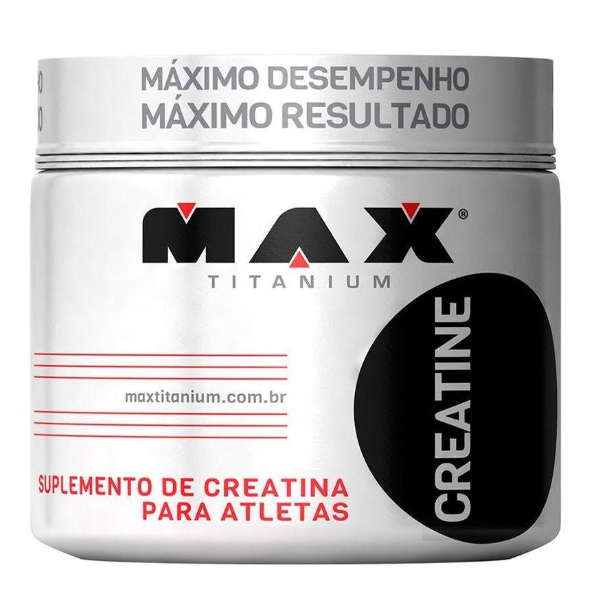 Creatina 100g Max Titanium  - Vitta Gold Nutrição Esportiva