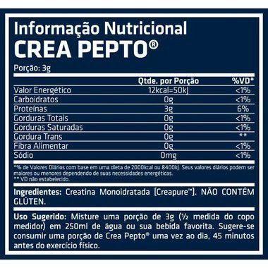 Creatina Crea Pepto 150g Performance Nutrition  - Vitta Gold