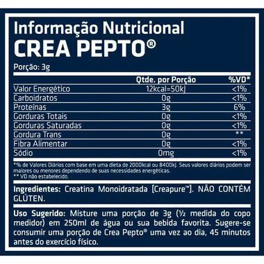 Creatina Crea Pepto 300g Performance Nutrition  - Vitta Gold
