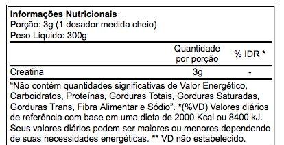Creatina Creapure 300g Atlhetica Nutrition  - Vitta Gold
