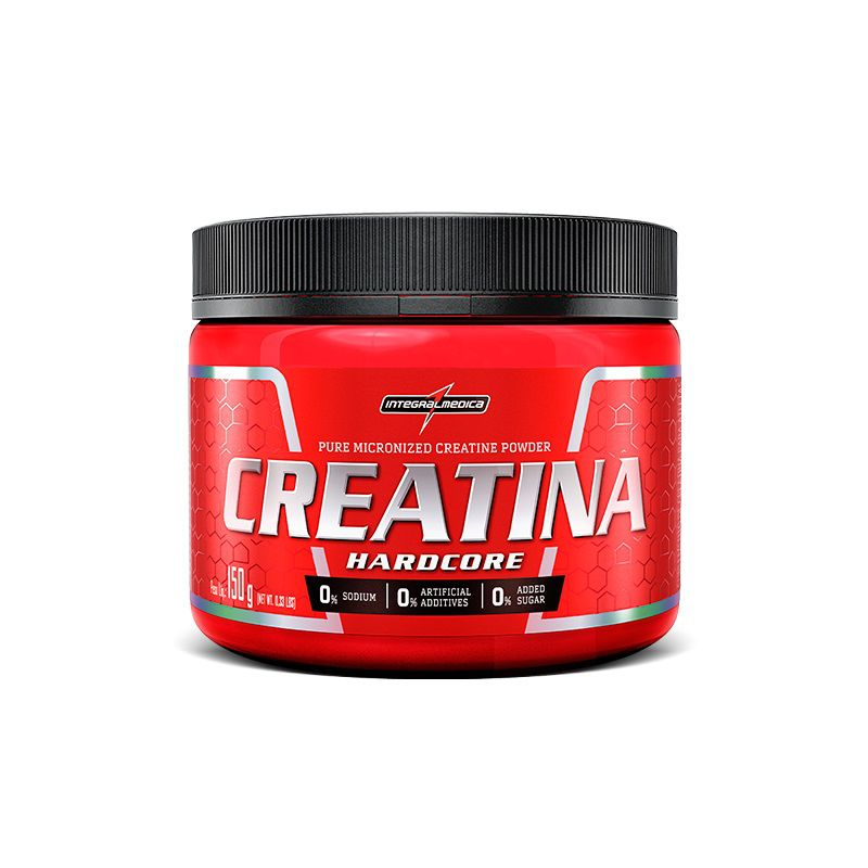 Creatina Hardcore 150g IntegralMédica - Vitta Gold