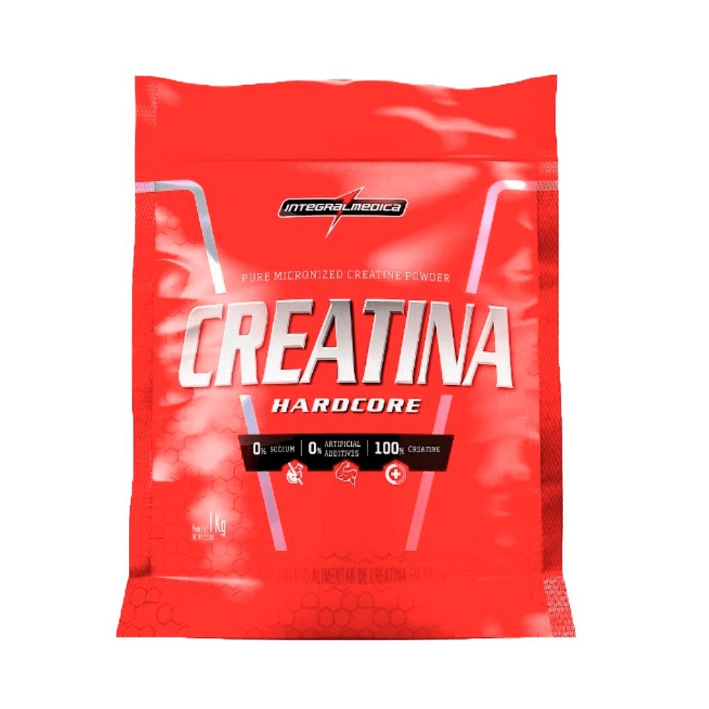 Creatina Hardcore 1kg Integralmédica  - Vitta Gold
