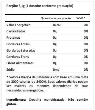 Creatine Creapure 200g Integralmédica  - Vitta Gold Nutrição Esportiva