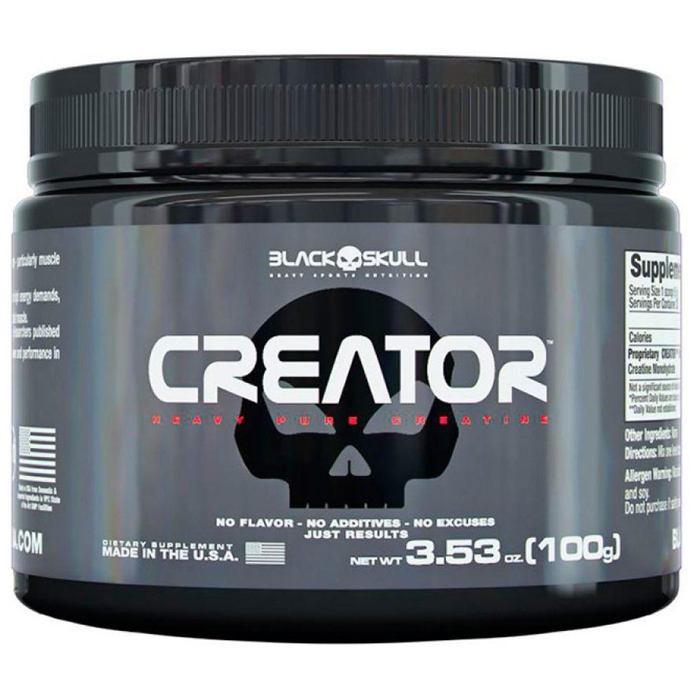 Creator 100g Black Skull  - Vitta Gold