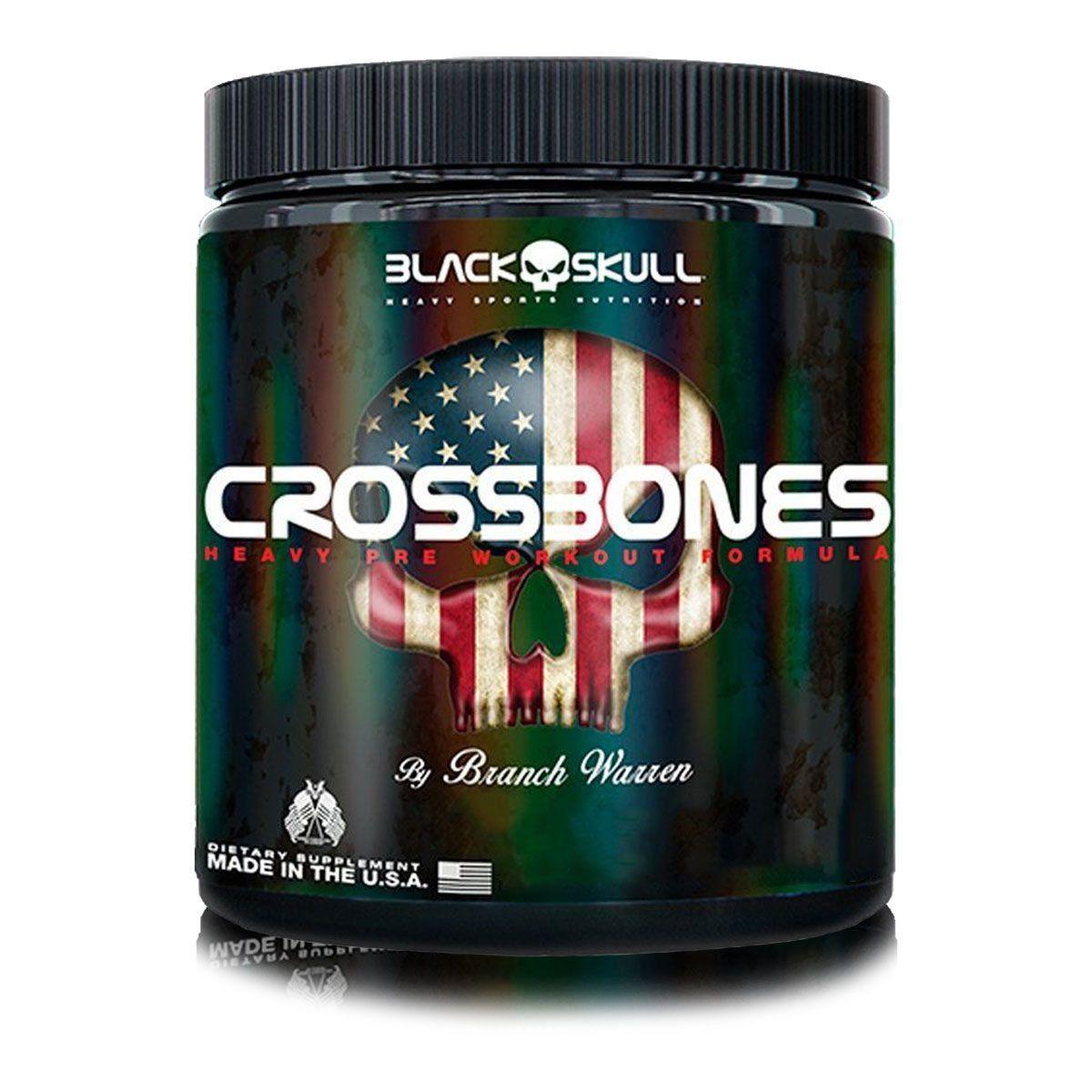 CrossBones 150g Black Skull  - Vitta Gold
