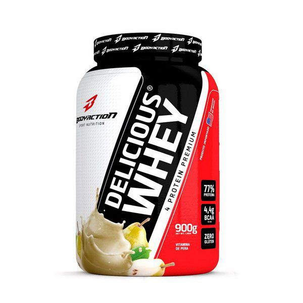 Delicious Whey 900g Body Action  - Vitta Gold