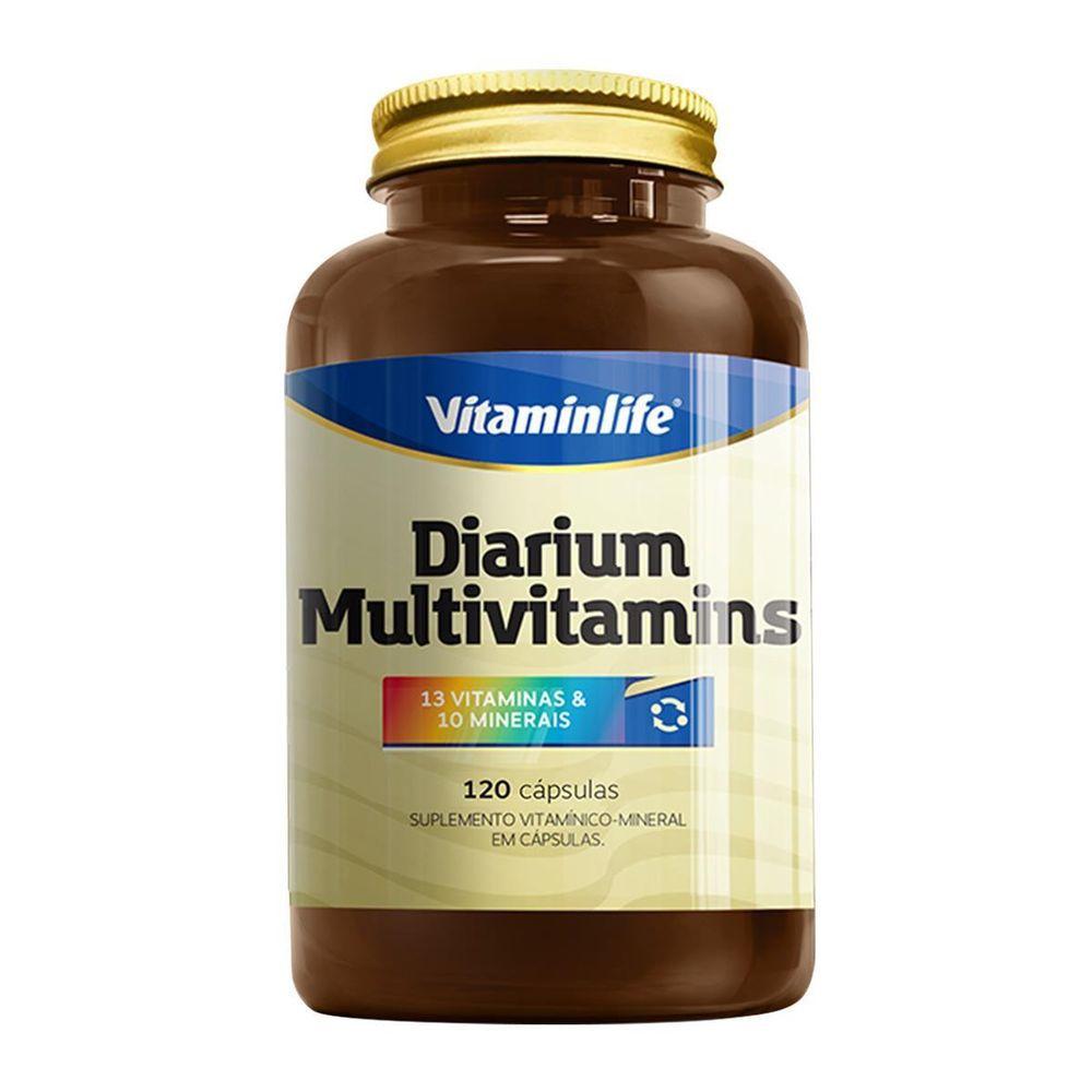 Diarium Multivitamins 120 Cápsulas Vitaminlife  - Vitta Gold