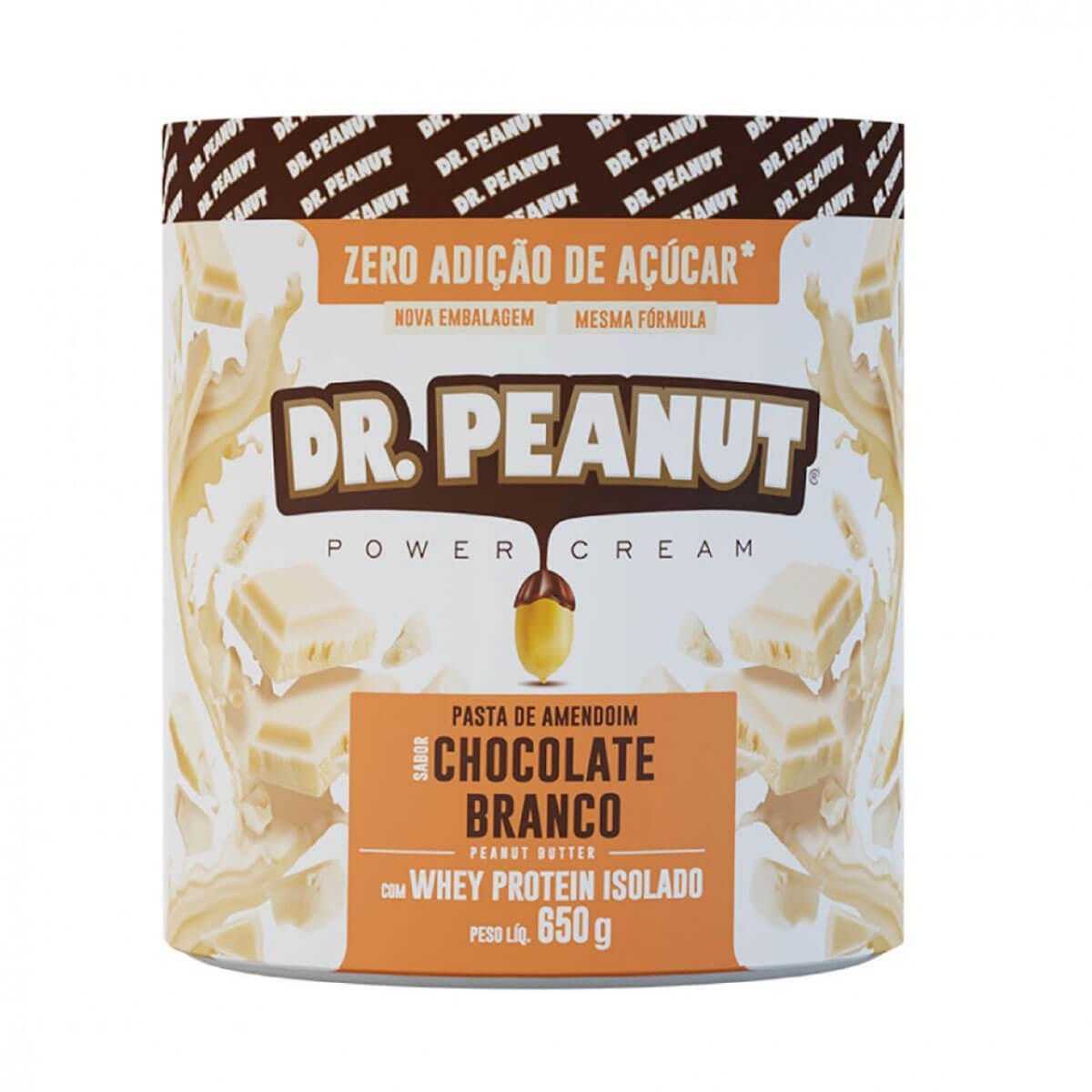 Dr Pasta de Amendoim 650G Dr Peanut