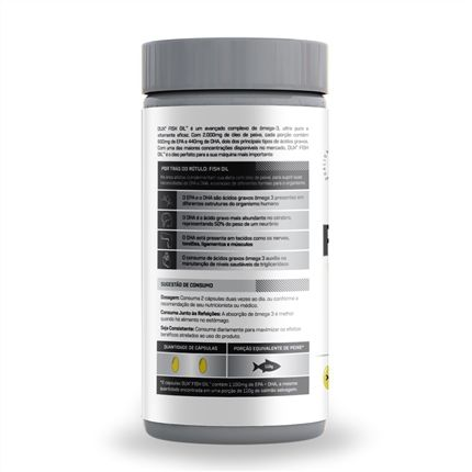 Fish Oil 120 cápsulas Dux Nutrition  - Vitta Gold