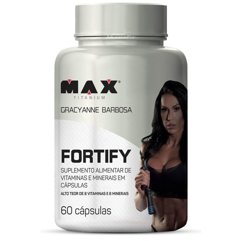 Fortify Pote Com 60 Capsulas Max Titanium