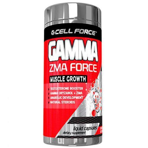 Gamma ZMA Force 60 Cápsulas Cell Force  - Vitta Gold