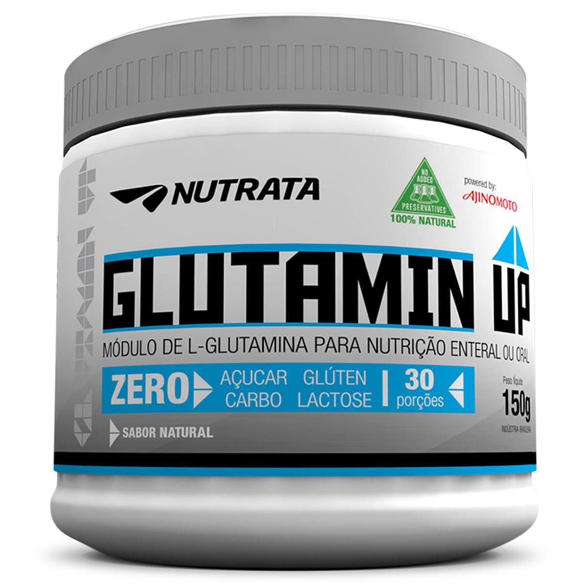 Glutamin Up 150g Nutrata  - Vitta Gold