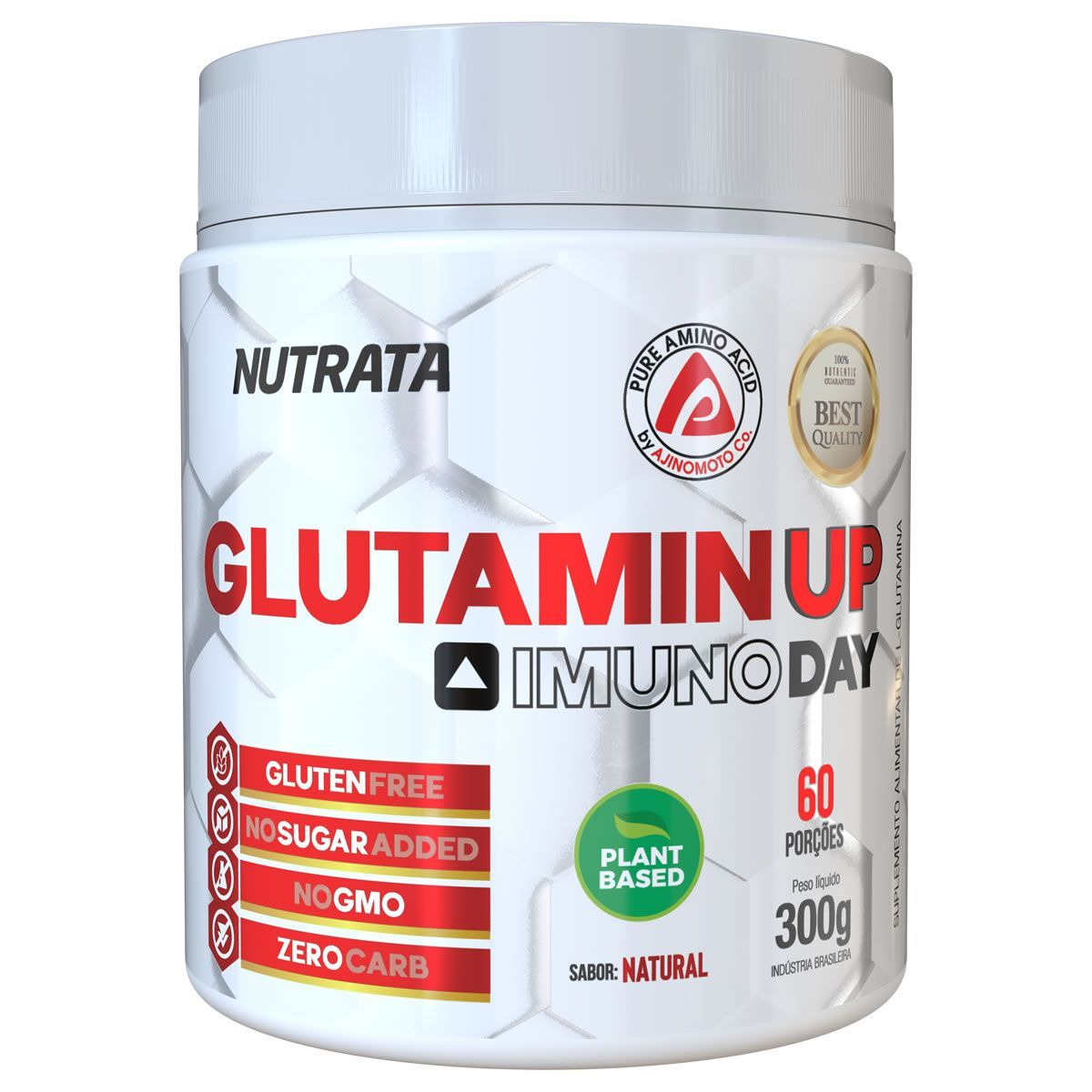 Glutamin Up 300g Nutrata