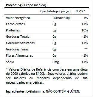 Glutamin Up 300g Nutrata  - Vitta Gold
