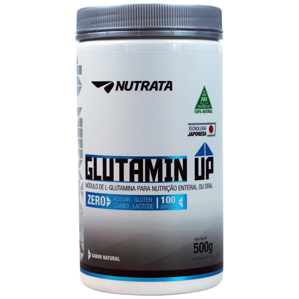 Glutamin Up 500g Nutrata  - Vitta Gold