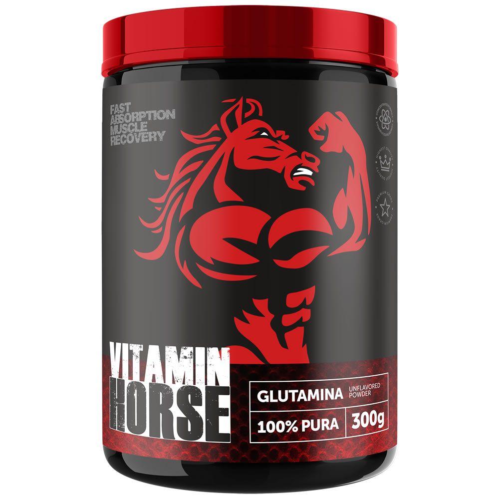 Glutamina 100% Pura 300g Vitamin Horse  - Vitta Gold