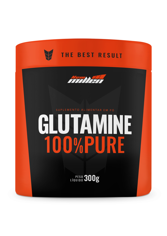Glutamina 100% Pure 300g New Millen