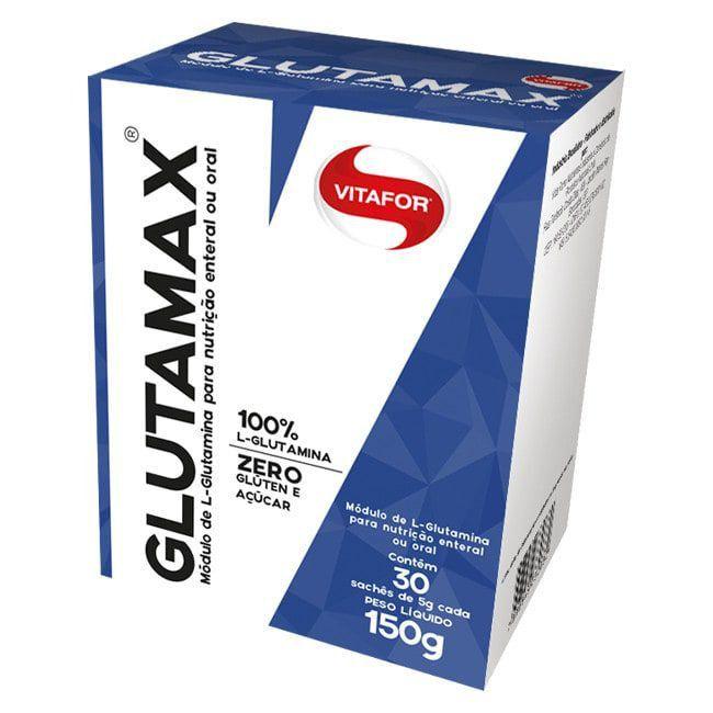 Glutamina Glutamax 30 Sachês de 5g Vitafor  - Vitta Gold