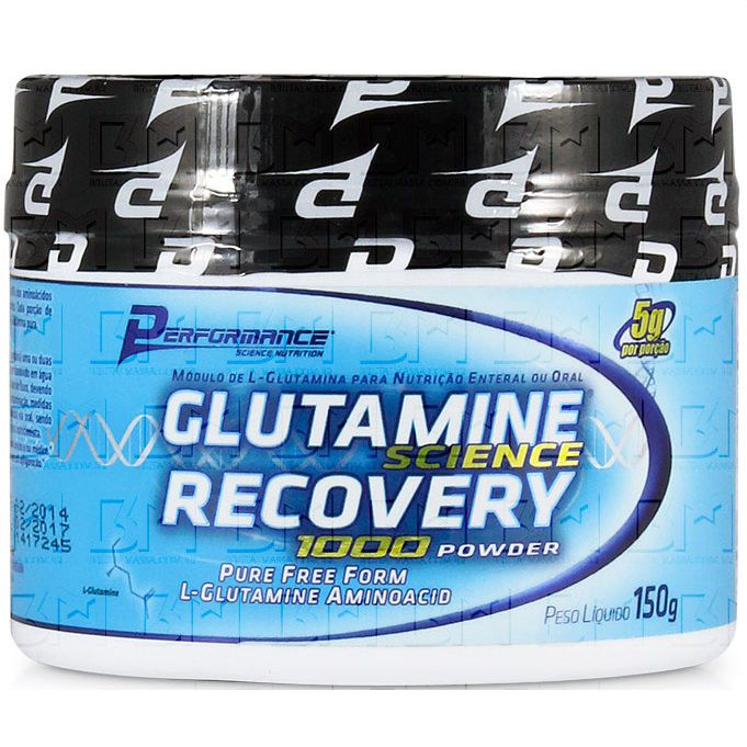 Glutamina Science Recovery 1000 Powder 150g Performance Nutrition