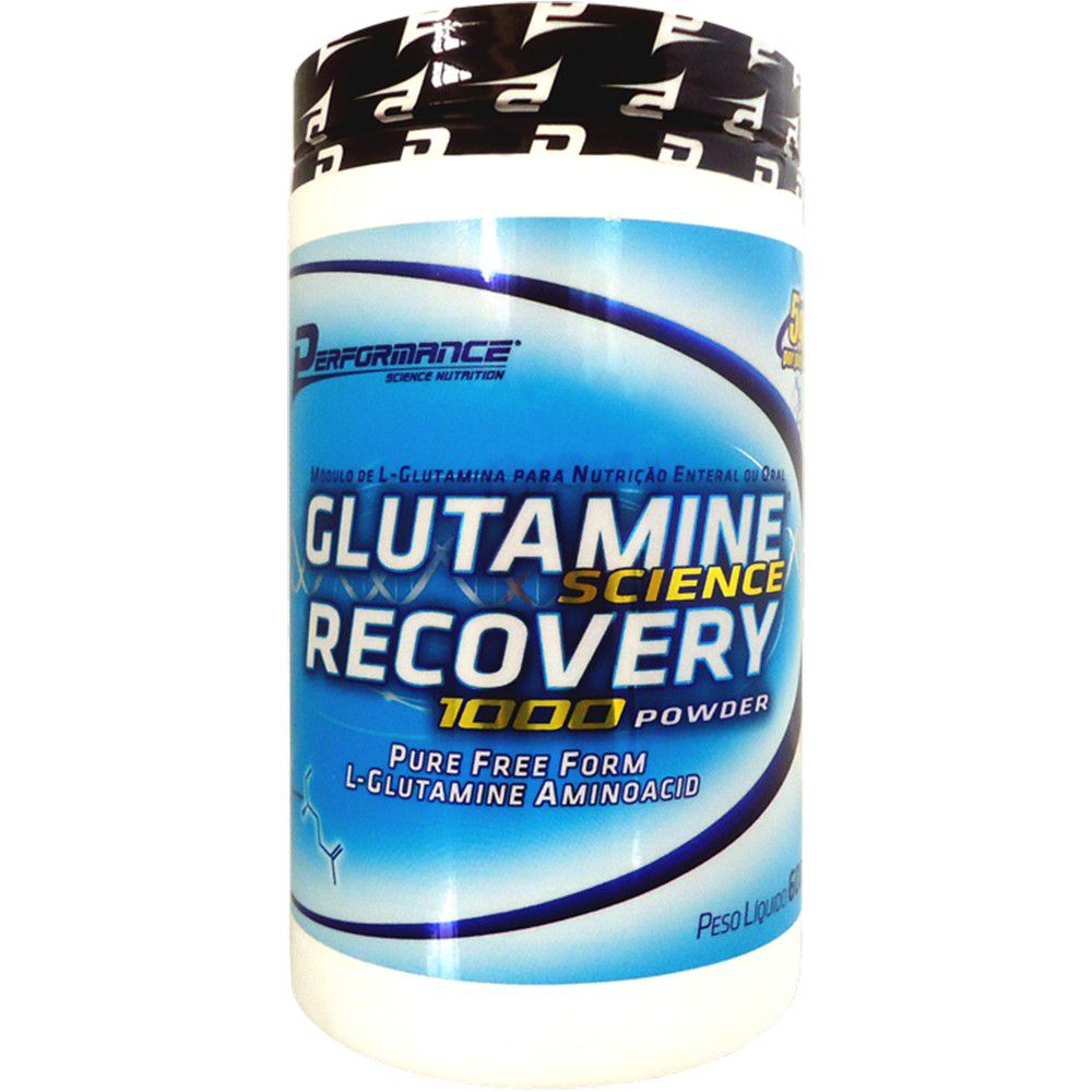 Glutamina Science Recovery 1000 Powder 600g Performance Nutrition