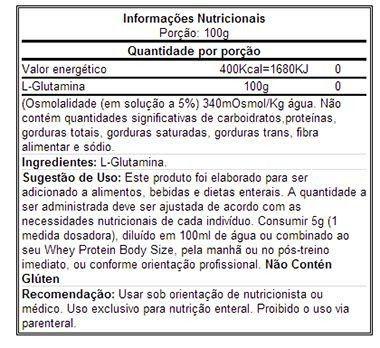 Glutamine Isolates 150g Integralmédica  - Vitta Gold