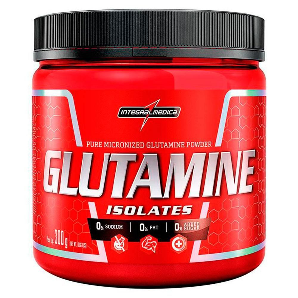 Glutamine Isolates 300g Integralmédica