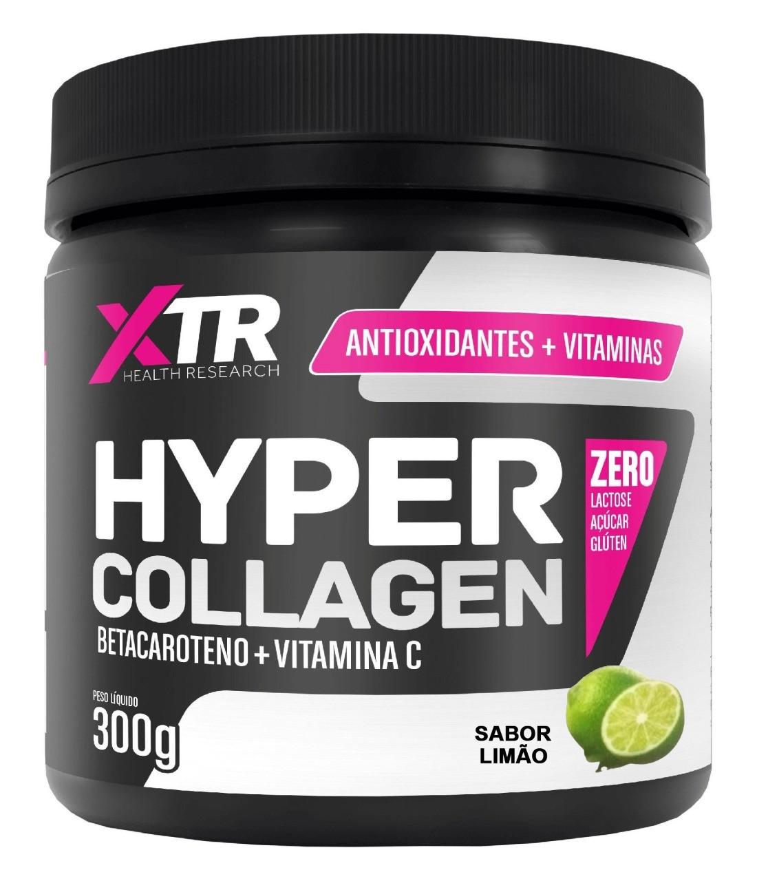 Hyper Collagen Betacaroteno + Vit C 300 G - XTR