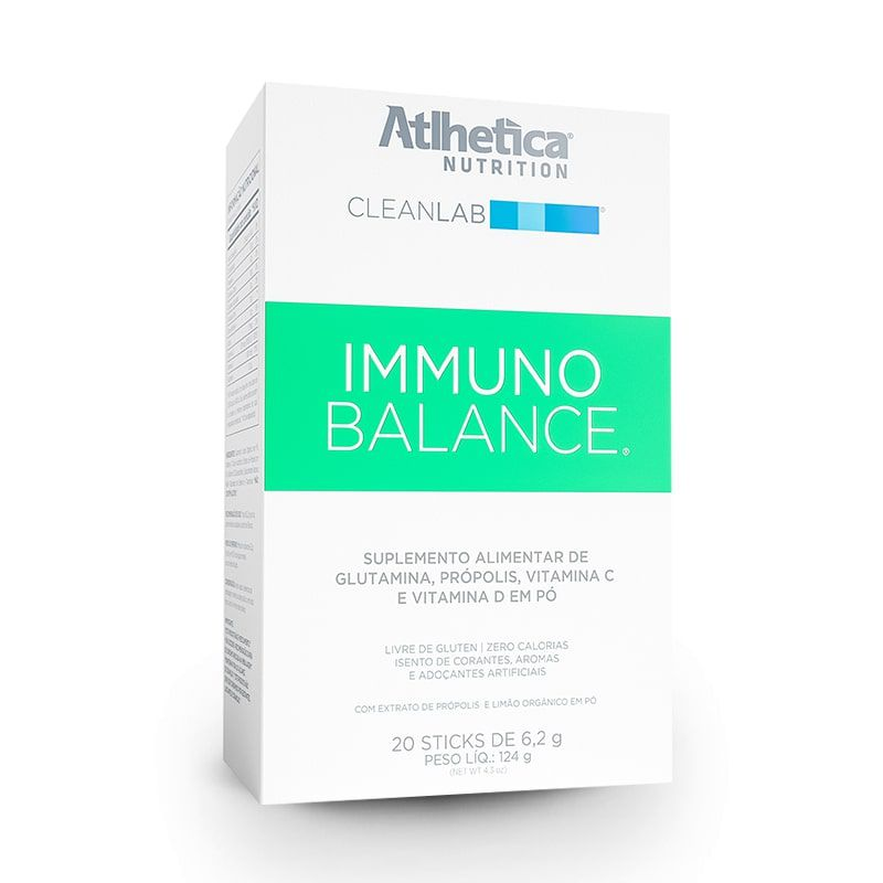 Immuno Balance 20 Sachês CleanLab Atlhetica Nutrition