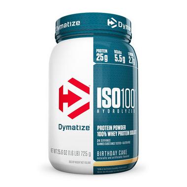 ISO 100 - 100% Hydrolyzed 1.6lb/725g Dymatize Nutrition