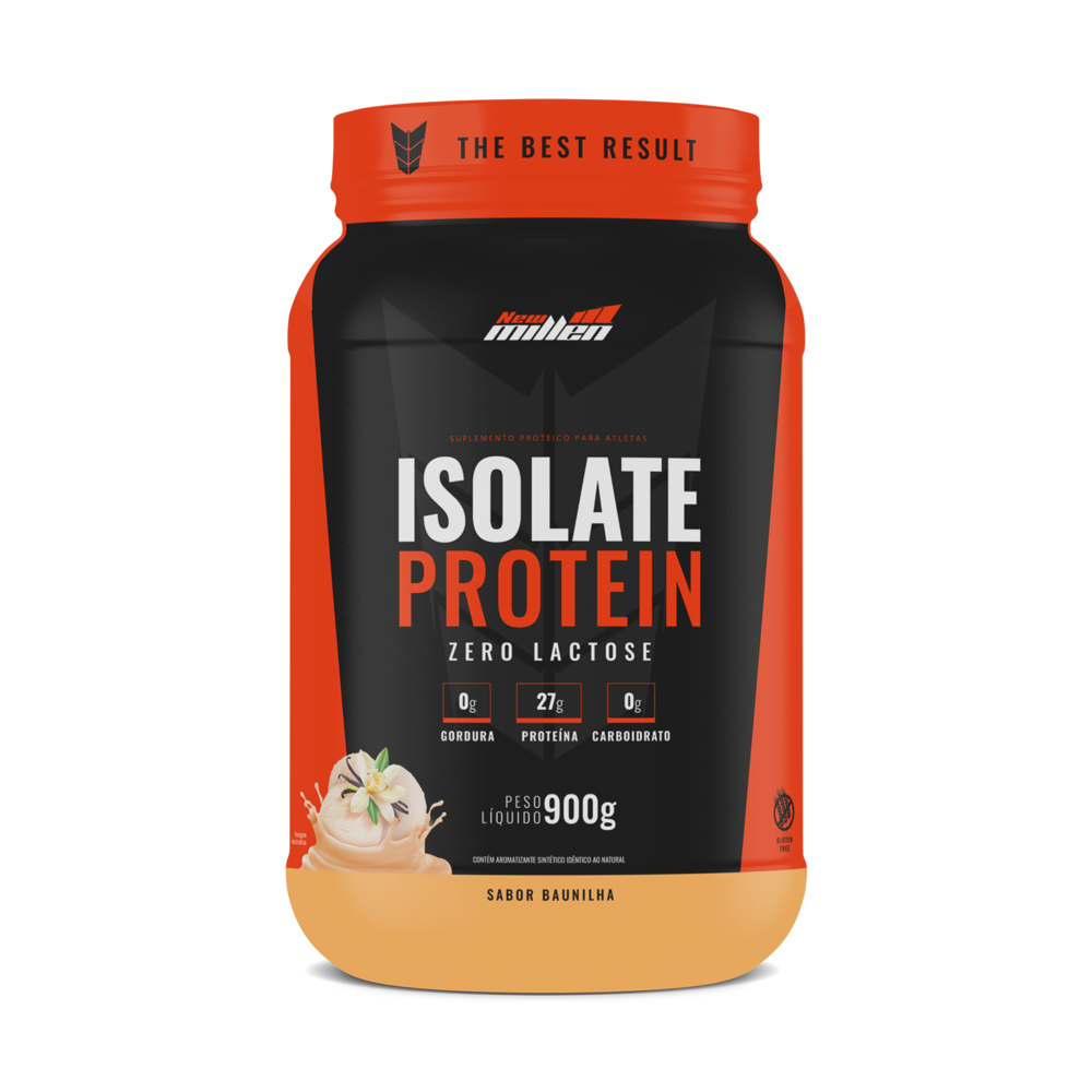 Isolate Protein 900g New Millen